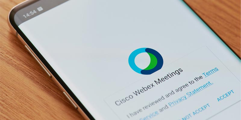 Using the Webex Mobile App